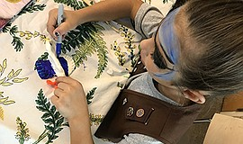 Promotional photo for the One Book For Kids with Girls Scouts San Diego works...