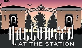 Promotional graphic for Halloween at the Station. Courtes...