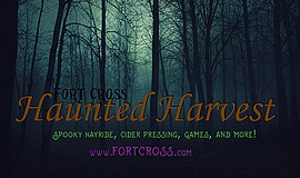 Promotional graphic for Haunted Hayride courtesy of FortC...