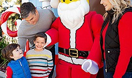 Promo graphic for Holidays At LEGOLAND