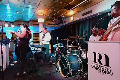 Promotional photo for Bands on the Bay Dinner Cruises. Co...