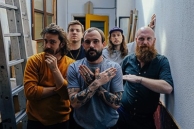 Promotional photo for IDLES With Surfbort courtesy of The...