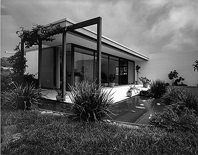 Promotional photo of artwork by Julius Shulman, Oxley Res...