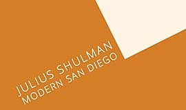 Promo graphic for Photography Exhibit 'Julius Shulman: ...
