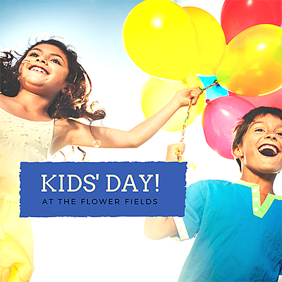 Promotional photo for Kids' Day. Courtesy of The Flower F...