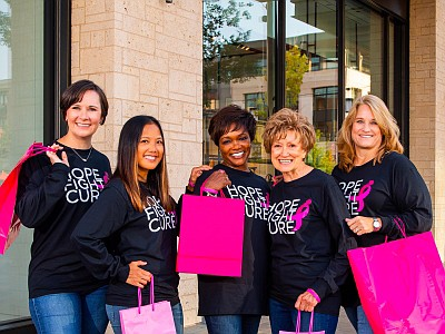 Promotional photo for the More Than Pink campaign at Las ...