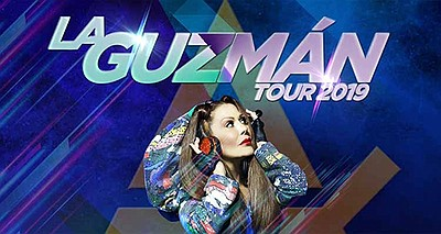 Promotional graphic for Alejandra Guzmán's tour stopping ...
