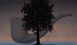 Featured: René Magritte, The Shadows, 1966. Oil on canvas...