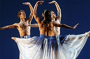 A photo of dancers from Mark Morris Dance Group, courtesy...