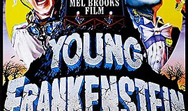 """Promotional film poster for the movie """"Young Frankenstein..."""