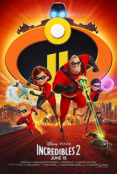 """Promotional graphic for """"Incredibles 2"""". Courtesy of IMDb."""