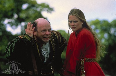 """Robin Wright and Wallace Shawn in """"The Princess Bride"""" (1..."""