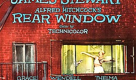 "Promotional film poster for ""Rear Window"". Courtesy of IMDB."