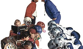 "Promotional graphic for ""Little Giants"". Courtesy of IMDb."