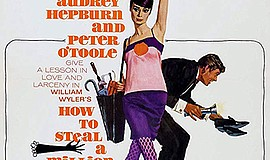 "Promotional movie poster for the film ""How to Steal a Mil..."