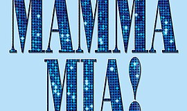 "Promotional graphic for ""Mamma Mia"" at Star Theatre."