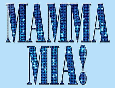"""Promotional graphic for """"Mamma Mia"""" at Star Theatre."""