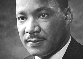Portrait photo of Dr. Martin Luther King Jr. (Public Domain)
