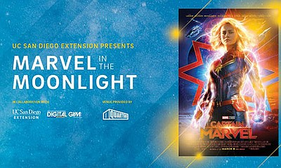 Promotional graphic for Marvel in the Moonlight. Courtesy...