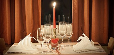 Promotional photo for Valentine's Day Dinner at Masters K...