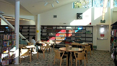 Interior photo of Mira Mesa Branch Library