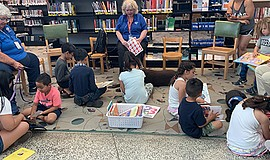 Promotional photo for the One Book For Kids Book Fiesta at Mira Mesa Branch L...