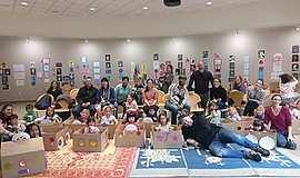 Promotional photo for Storytime & Craft at Mission Valley Library.