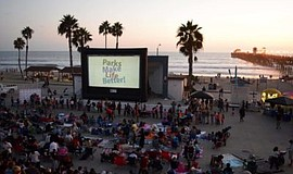 Photo from a previous Movie in the Park. Courtesy of Ocea...
