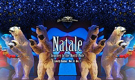 Promo graphic for 'Natale: Journey To The North Pole' C...