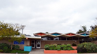 Exterior photo of North Clairemont Library
