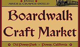 Promo graphic for The Boardwalk Craft Market