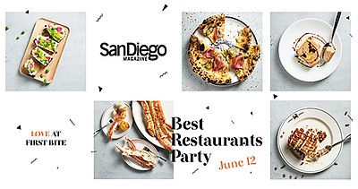 Promotional graphic for San Diego Magazine's 2019 Best Re...