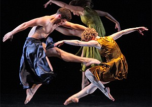 A promotional photo of Mark Morris Dance Group, courtesy ...