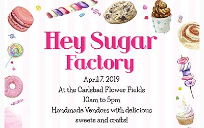 Promotional graphic for the Hey Sugar, Hello Cookie. Cour...