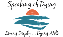 Promo graphic for 'Speaking Of Dying'