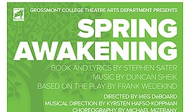 """A promotional poster for """"Spring Awakening,"""" courtesy of ..."""