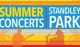 Promotional graphic for Summer Concerts courtesy of Unive...