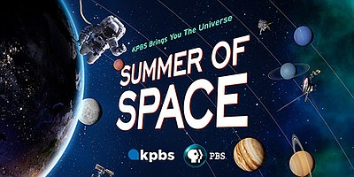 Promotional graphic for The Summer Of Space.