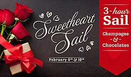 Promotional graphic for the Sweetheart Sails. Courtesy of...