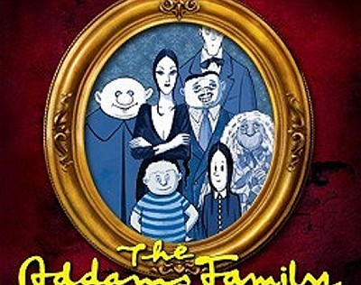 """A promotional graphic for """"The Addams Family,"""" courtesy o..."""