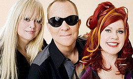 Promotional photo of The B-52s band. Courtesy of The B-52...