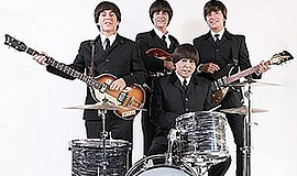 Promo graphic for Hard Day's Night - A Beatles Tribute