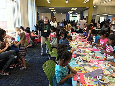 Promotional photo for storytime & craft at Vista Branch L...