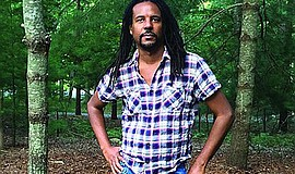 Promotional graphic of Colson Whitehead. Courtesy of Made...