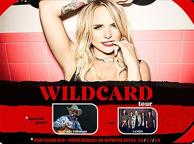 """Promotional graphic for the """"Wildcard"""" tour, courtesy of ..."""