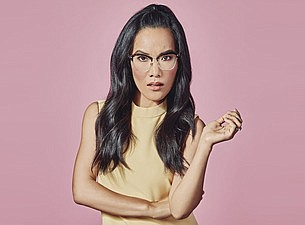 A promotional photo of comedian Ali Wong, courtesy of Tic...