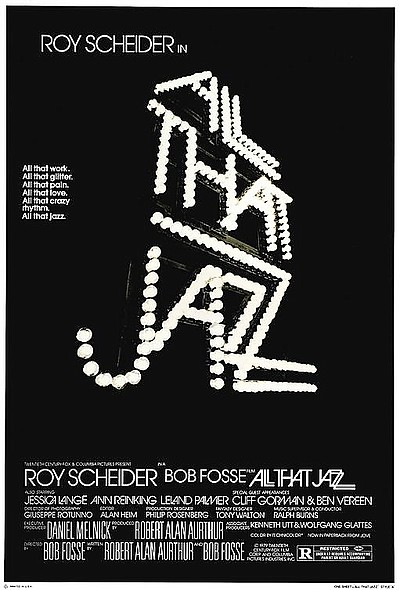 """Promotional film poster for """"All That Jazz"""". Courtesy of ..."""