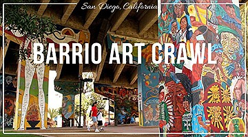 Promotional photo of Barrio Art Crawl, courtesy of the or...