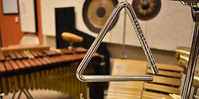 A photo of musical instruments, courtesy of Eventbrite.
