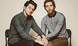 Promotional photo of Ben Schwartz and Thomas Middleditch ...
